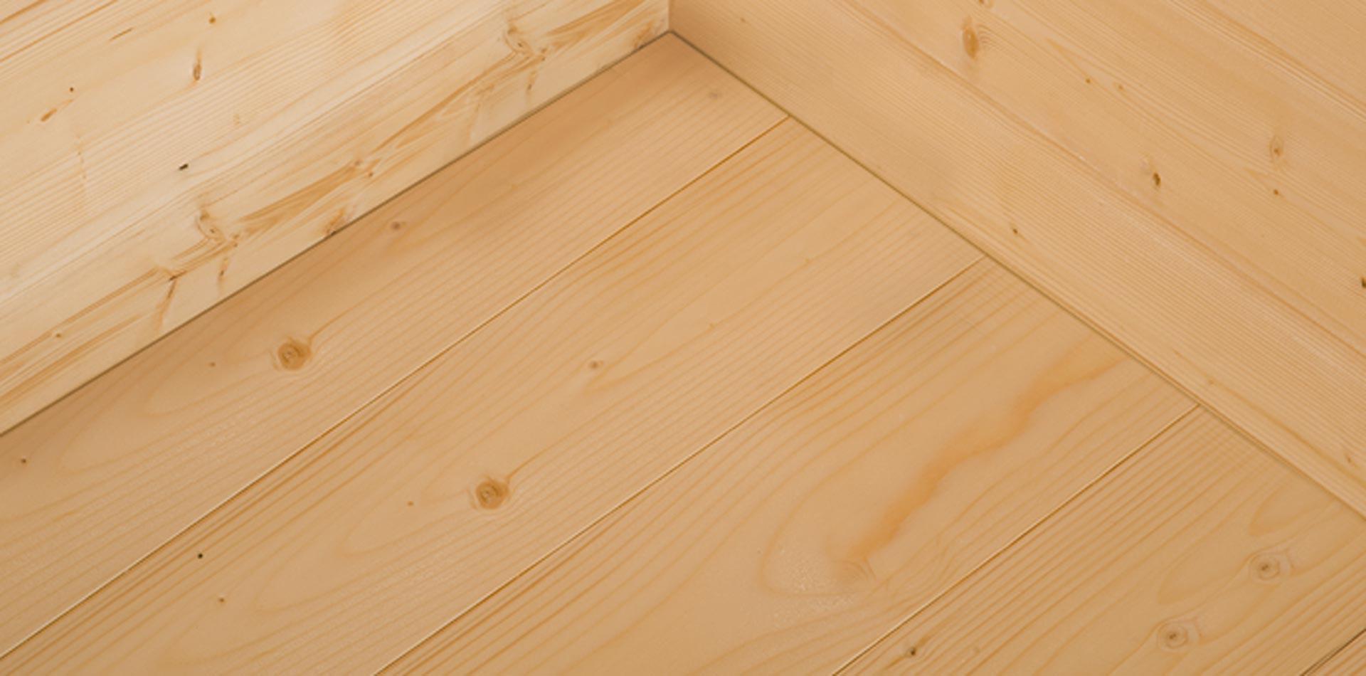 Massivholzböden für WEKA Garten- und Gerätehäuser