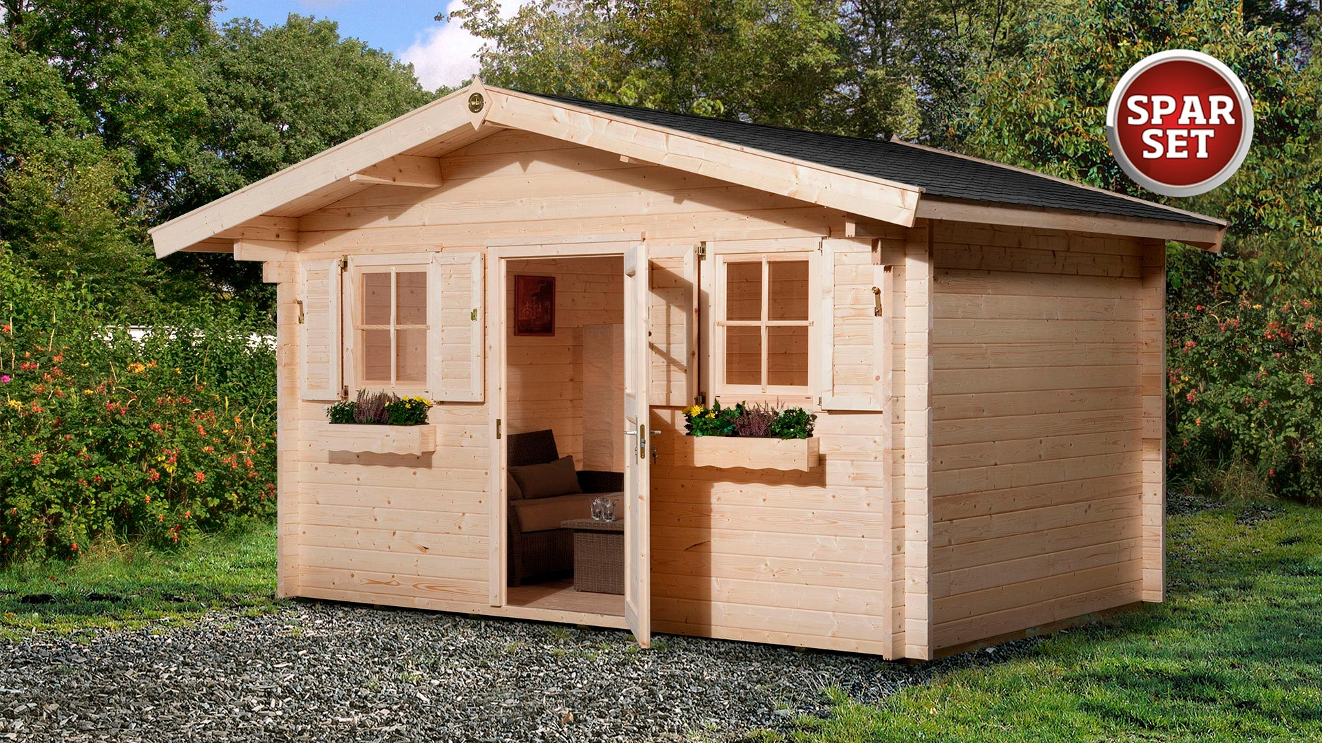 Gartenhaus Restposten Gunstig Kaufen Weka Holzbau